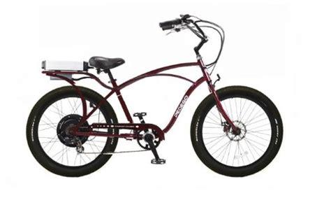 comfort bike tires pedego burgundy comfort cruiser classicelectric bike with