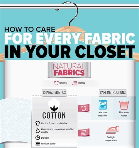 washing whites and colors together infographic how to care for every fabric in your closet