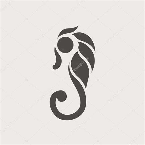 Seahorse logo vector — Stock Vector © ilovecoffeedesign ...