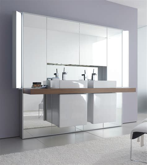 duravit bathroom mirrors mirrowall mirror wall system from duravit digsdigs
