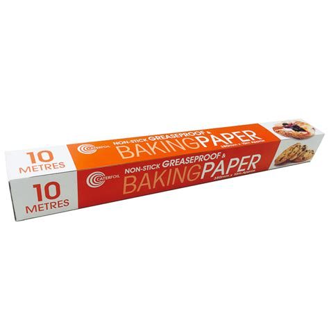 How To Make Baking Paper At Home - non stick greaseproof baking paper 10m baking essentials