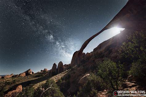 Landscape Arch Size Way Moonshine Landscape Arch Utah