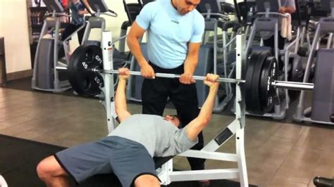 where to hold the bar for bench press the art of spotting at the gym thebrotalk