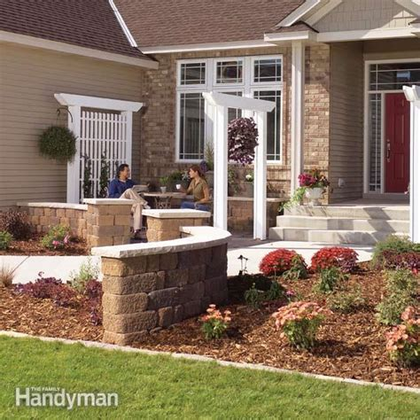 Front Entryway Landscaping Ideas Inexpensive Landscaping For Attractive Entryways The Family Handyman