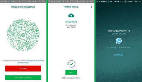 tutorial como instalar whatsapp plus descargar whatsapp plus apk 6 10 gratis en su web oficial