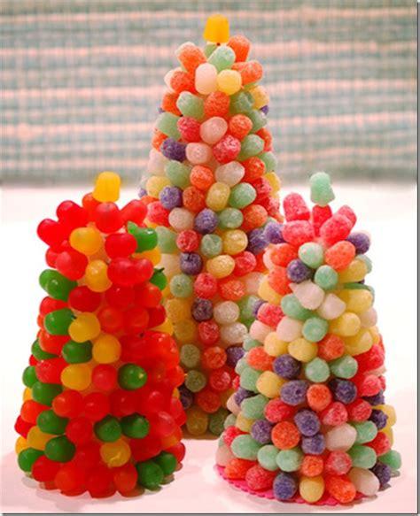 taller de figuras con gominolas 225 rboles tartas casas