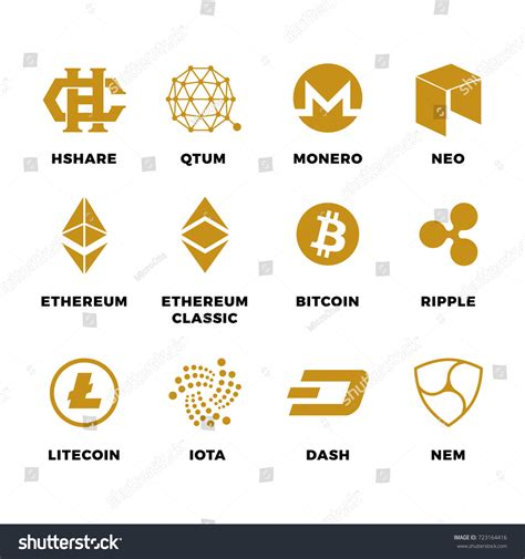cryptocurrency mining investing and trading in blockchain including bitcoin ethereum litecoin ripple dash dogecoin emercoin putincoin auroracoin and others books popular cryptocurrency bitcoin blockchain vector symbols