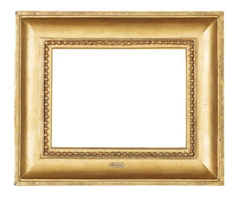 aste per cornici in legno quattro cornici in legno intagliato e dorato dipinti