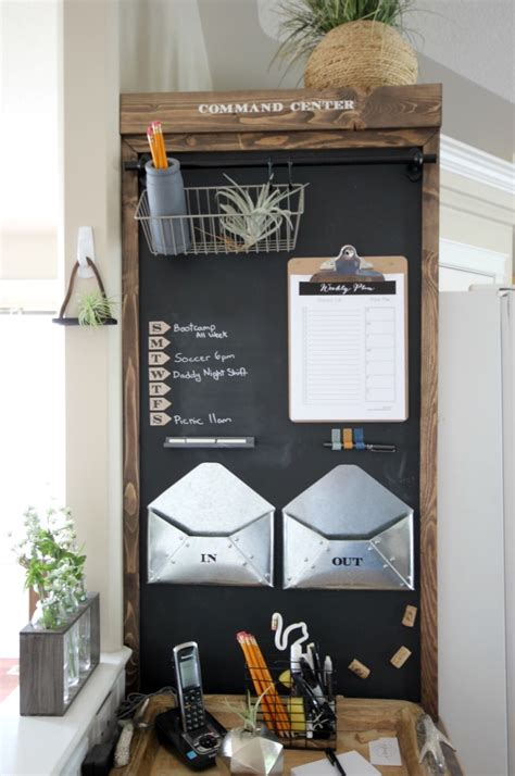 diy home center industrial command center reveal love create celebrate
