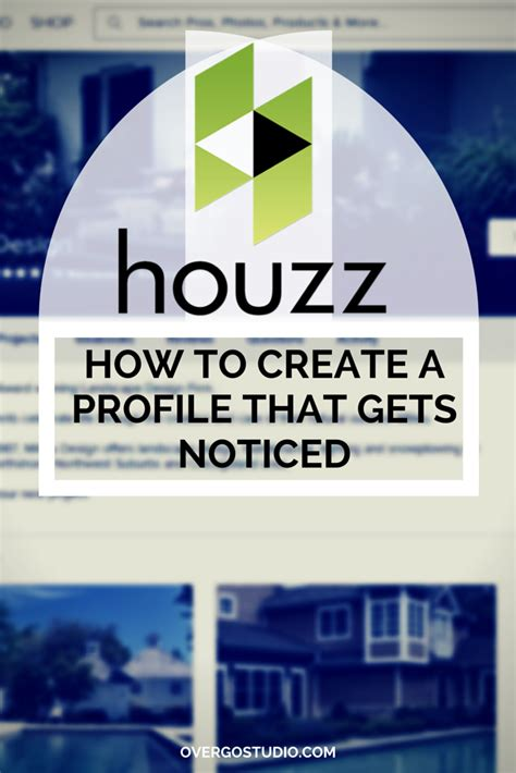 houzz advertising houzz marketing create a professional profile that gets