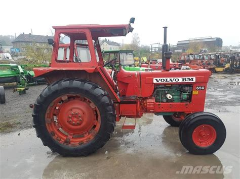 tractor volvo volvo bm 650 tractors year of manufacture 1980 mascus uk