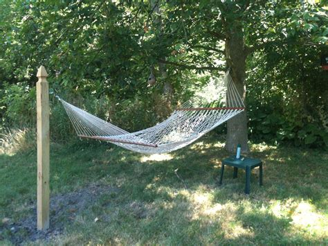 how to hang a hammock without a tree search