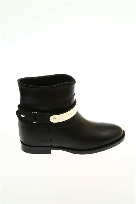 roma shoes leather black ankle boot via roma 15