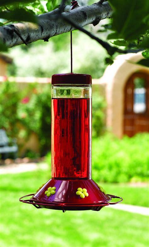 Patio Bird Feeder by Pet 209 Our Best 30 Ounce Glass Hummingbird Bird