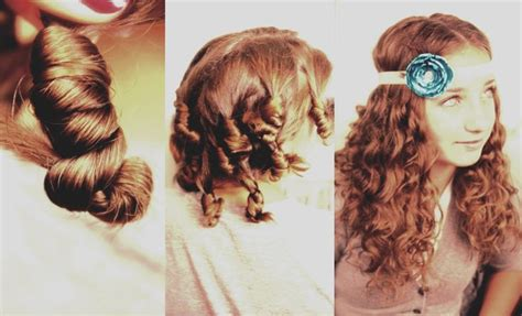 cute curls hairstyles no heat how to make cocoon curls with no heat interesting