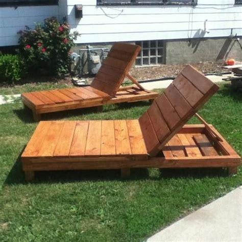 Sun Lounge Chair Design Ideas Ideas De Tumbonas De Palet Para El Verano I Palets