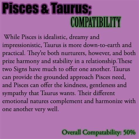 best 28 are pisces and taurus a match pisces horoscope