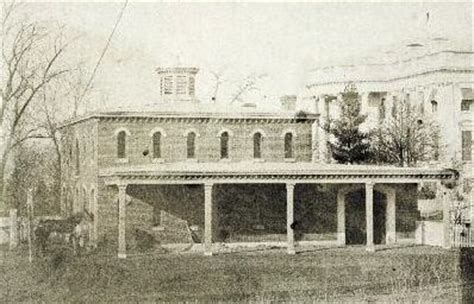 white house destroyed the white house stable destroyed by fire on february 10 1864 history pinterest