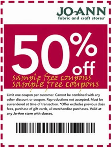 printable joann fabric coupons joann fabric mobile coupons expired on july 31 2014