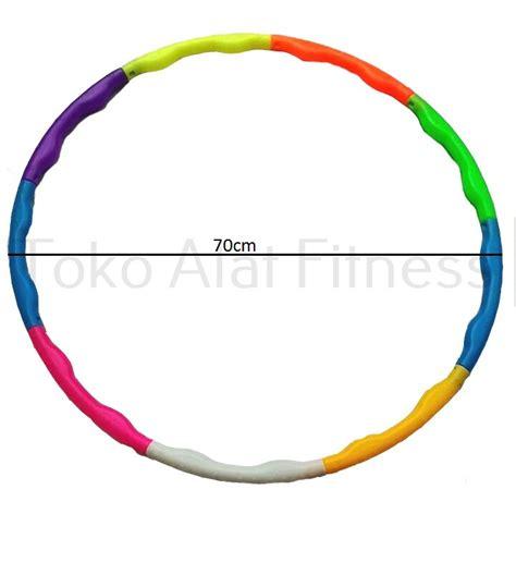 Hula Hoop Warna Warni Diskon hula hoop warna warni 70cm toko alat fitness