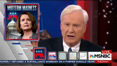 Hardball Host Has A On by What Chris Matthews Goes After Pelosi Because