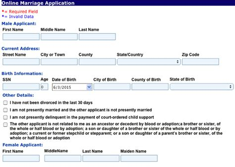 Dallas Tx Marriage Records Marriage License Forms Could Impede Marriage