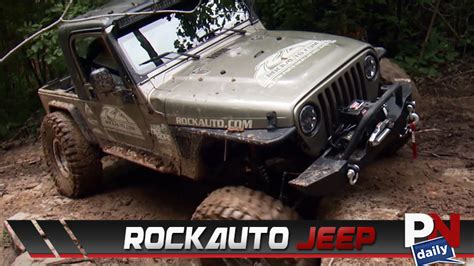 Rockauto Giveaway - the rockauto give away jeep could be parked in your garage