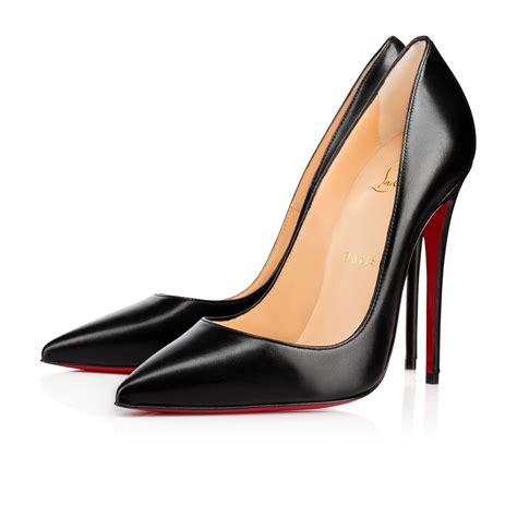Shoes Christian Louboutin Po229 so kate nappa shiny 120 black lambskin shoes christian louboutin