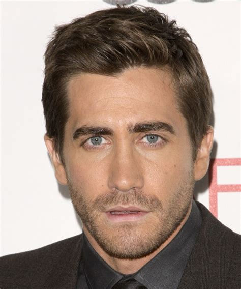 Jake Gyllenhaal Hairstyles by Jake Gyllenhaal Formal Hairstyle