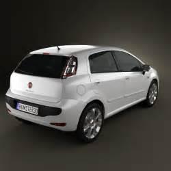 Fiat Punto Evo 5 Door Fiat Punto Evo 5 Door 2010 3d Model Humster3d