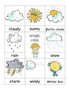 imagenes de weather en ingles flashcards weather games juegos sobre el tiempo