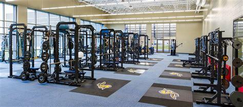 the weight room rapid city architecture inc sdsu sanford jackrabbit athletic complex
