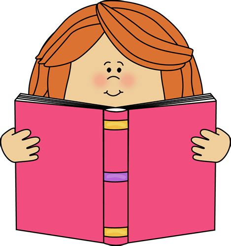 picture of a book clipart reading clip reading images