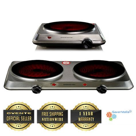 portable ceramic cooktop ovente portable indoor outdoor ceramic electric infrared