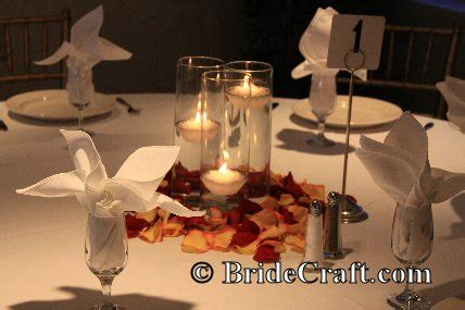 wedding table decor without flowers wedding centerpieces without flowers