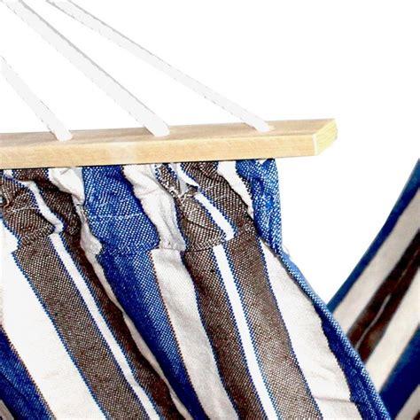 amaca con supporto amaca in cotone con supporto in legno cm 200x70