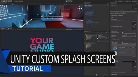 tutorial unity 5 youtube custom splash screen unity 5 tutorial youtube