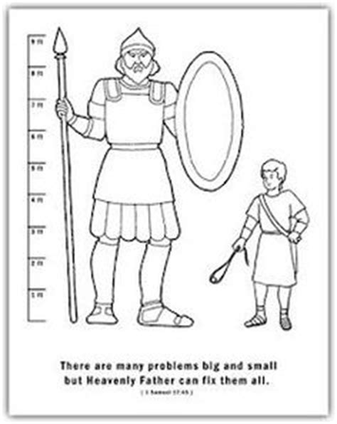 christian coloring pages david and goliath david and jonathan bible activity sheet from www
