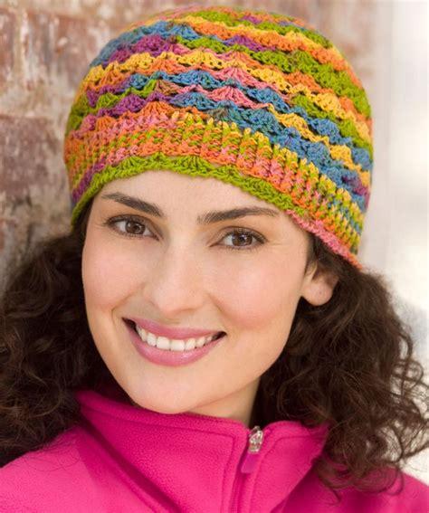 pattern red heart yarn lace hat crochet pattern made from heart sole sock yarn