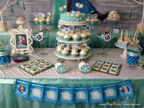 party tales birthday party  frozen adventure