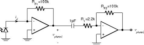 photodiode lifier capacitor elec 243 lab experiment 5 3
