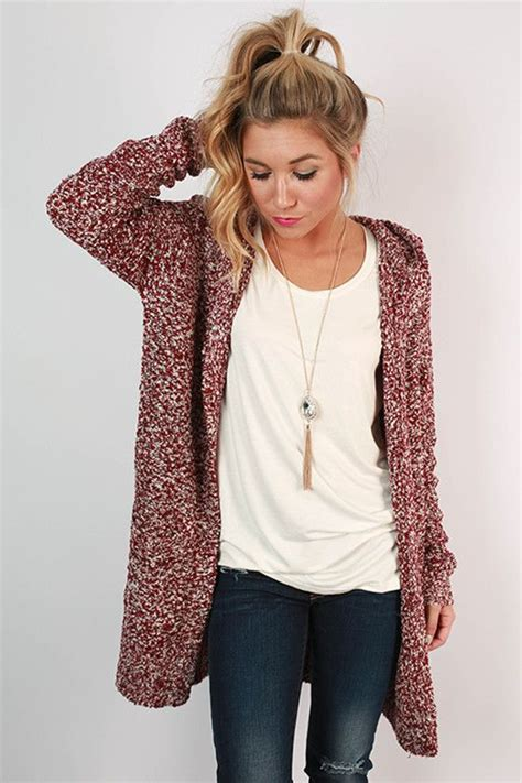 plain simple 11 knits to wear every day books pumpkin spice cuddles cardigan in cabernet pumpkins