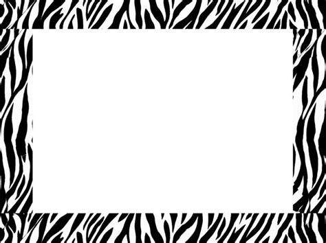 printable zebra paper free zebra border templates free here s a great zebra border