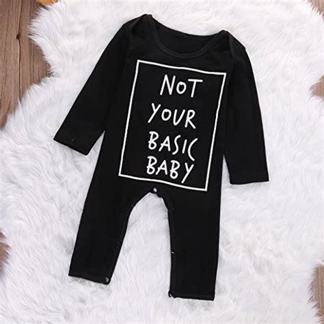 Romper Baby Not Your Basic the best place to buy trendy cheap baby clothes