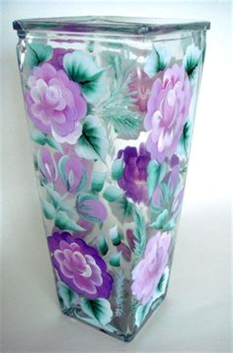 Glass Painting Designs For Vases by 1000 Images About Painted Wine Glasses And More Gift