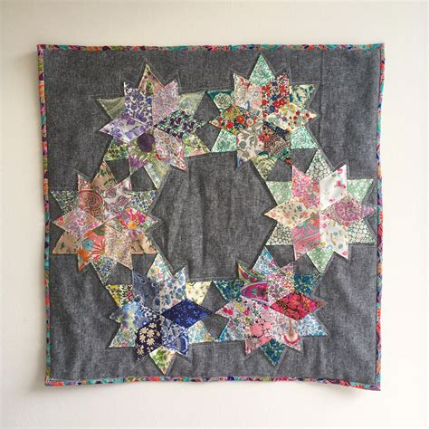 Blossom Quilt by Blossoms An Epp Liberty Mini Quilt Blossom
