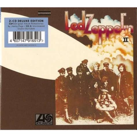 Cd Led Zeppelin led zeppelin ii by led zeppelin cd x 2 with techtone11