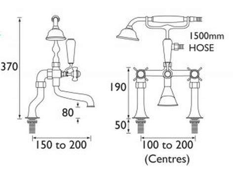 bristan 1901 bath shower mixer bristan 1901 luxury bath shower mixer chrome n lbsm c cd