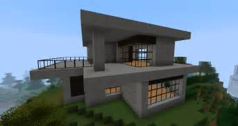 ruked on minecraft modern house schematics 02 small