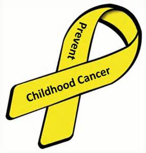 childhood cancer color september 2014 cancer prevention daily